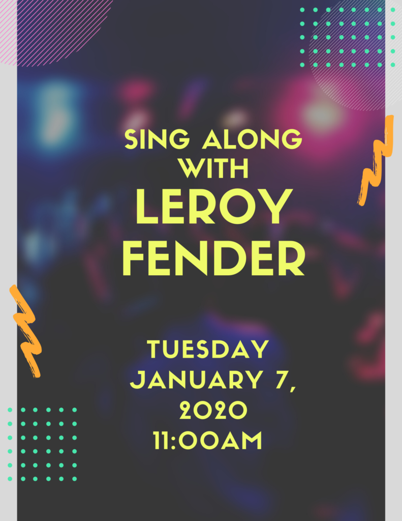 Sing Along with Leroy Fender Flyer