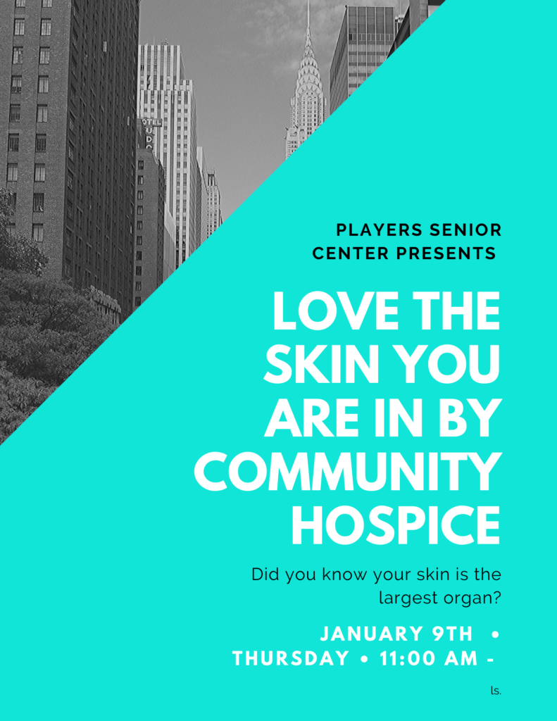 Love the Skin You're in Flyer
