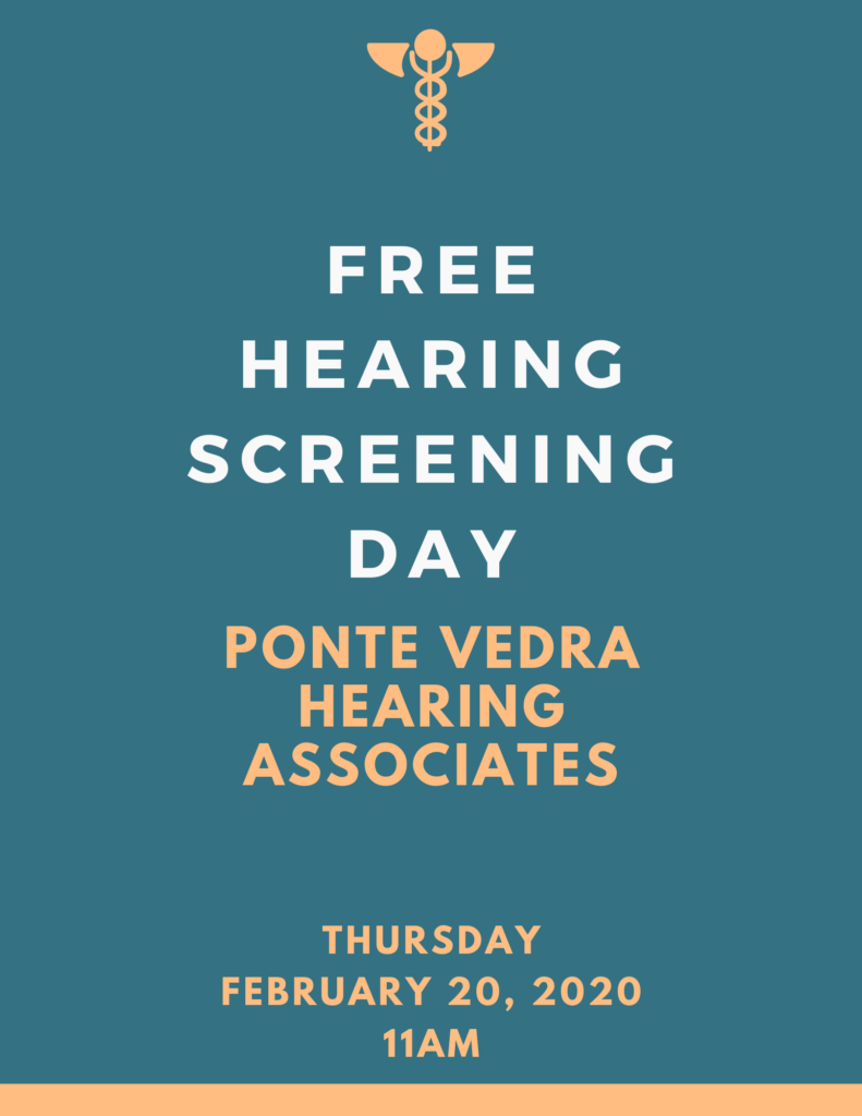 Free Hearing Screening Day Flyer