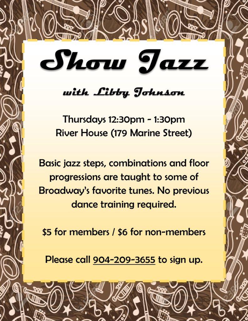 Show Jazz Thursdays Flyer