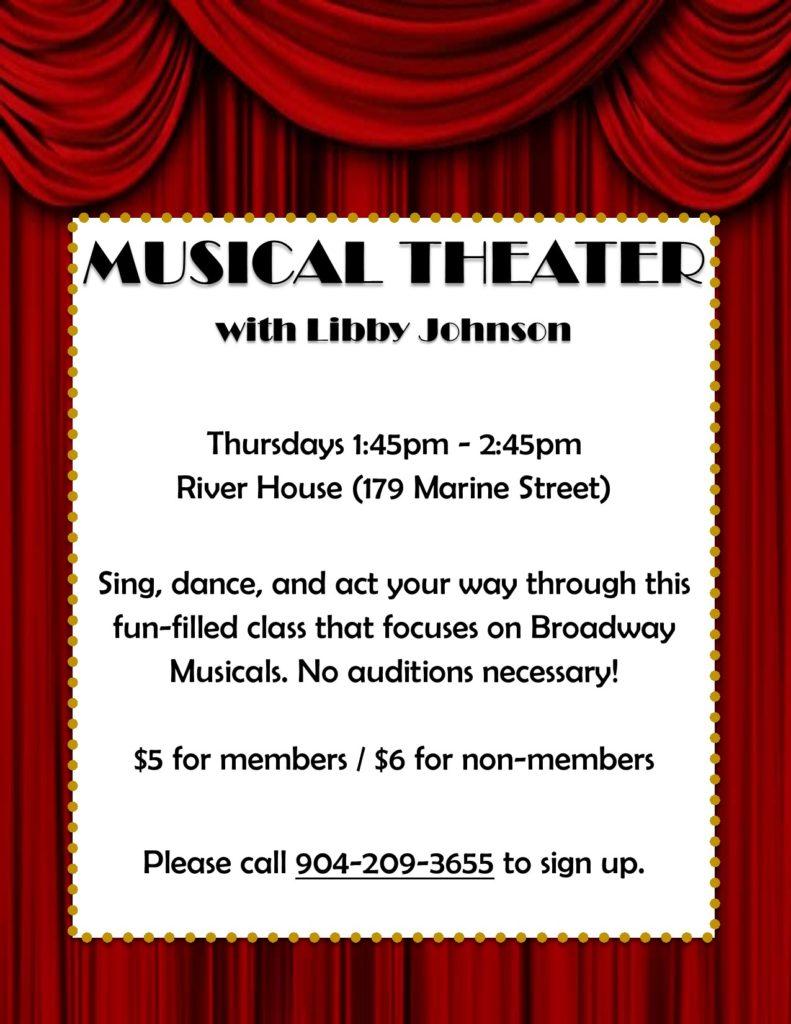 Musical Theater Thursdays Flyer