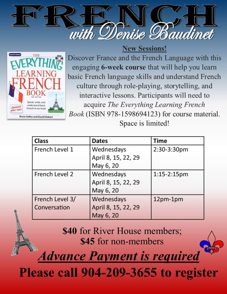 French Class Flyer