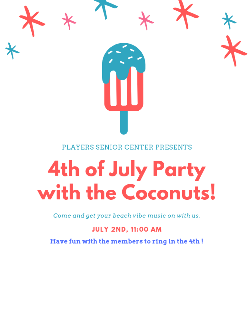 Fourth of July Party with the Coconuts
