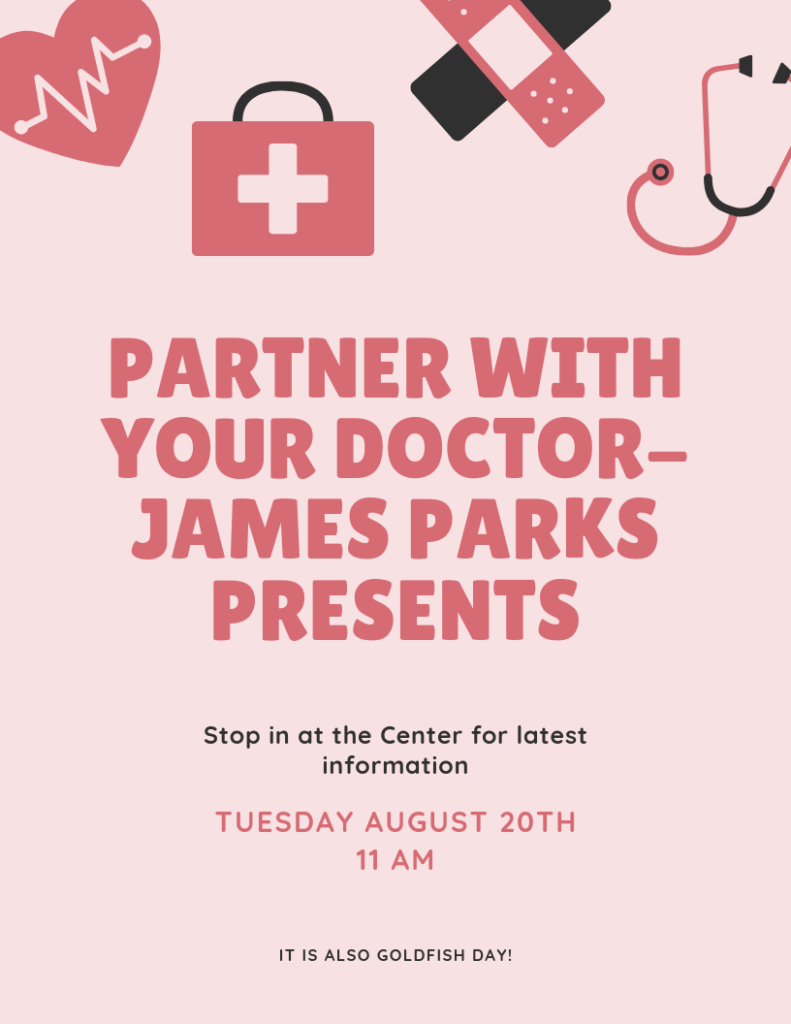 Partner with your doctor with James Parks