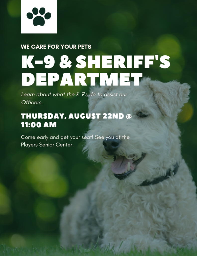 K9 and Sheriff's Department