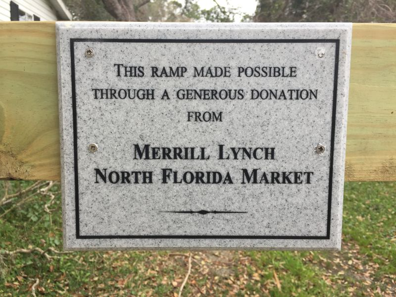 Merrill Lynch - Donor's Plaque
