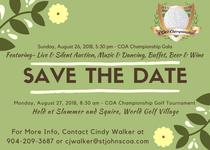 COA Championship Golf and Gala