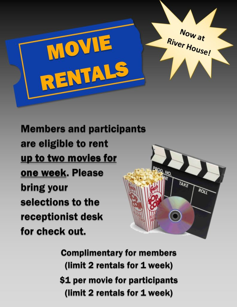 Movie Rental Flyer for the River House