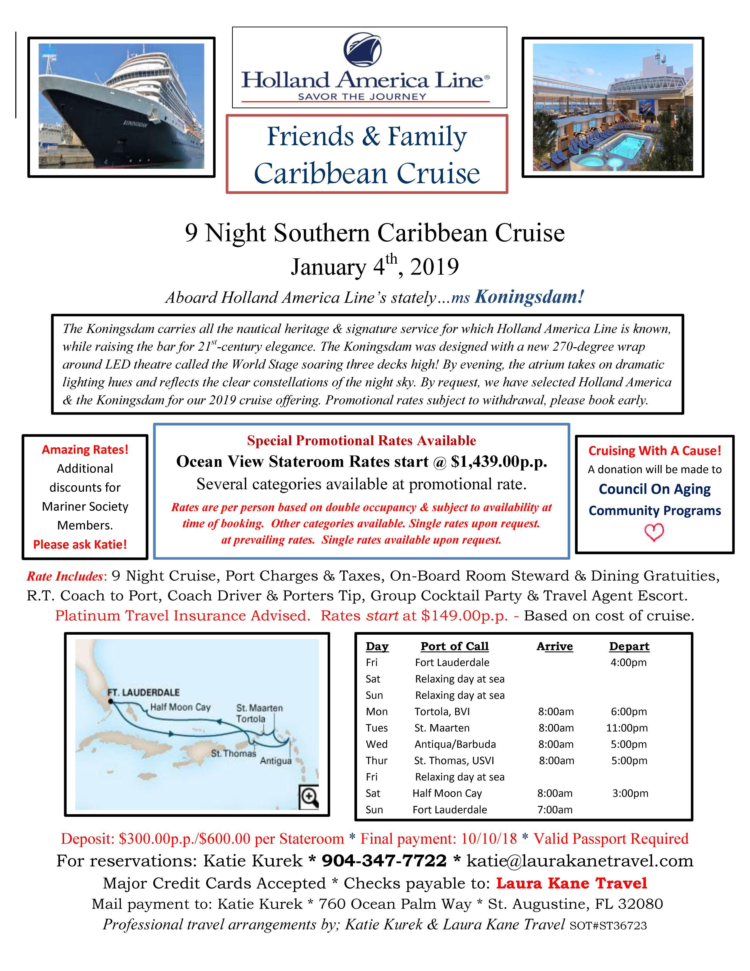 Cruise to benefit COA